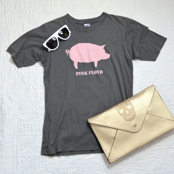 c8bb9f52 Pink Floyd Tops | Animals Tour Tshirt Pink Pig | Poshmark